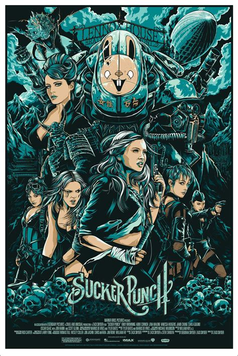 design is one movie mondo sucker punches zack snyder with new poster wired
