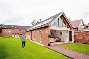 two storey barn conversion real homes