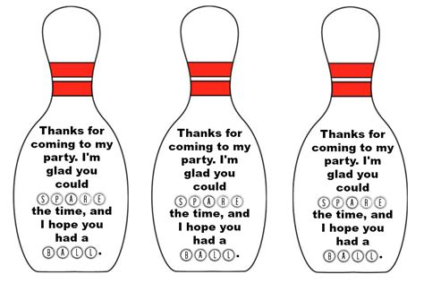 printable bowling images east coast mommy bowling party favours with free