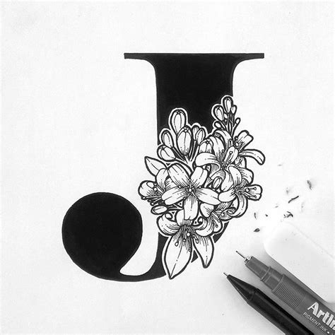 17 beste idee 235 n over letter j tattoo op pinterest letter