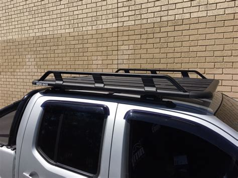 Roof Racks For Nissan Navara by Nissan Navara 4dr Ute Dual Cab D40 St St X 11 05 To 06