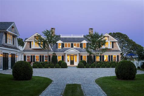 patrick ahearn architect coastal new england harbor house custom home magazine