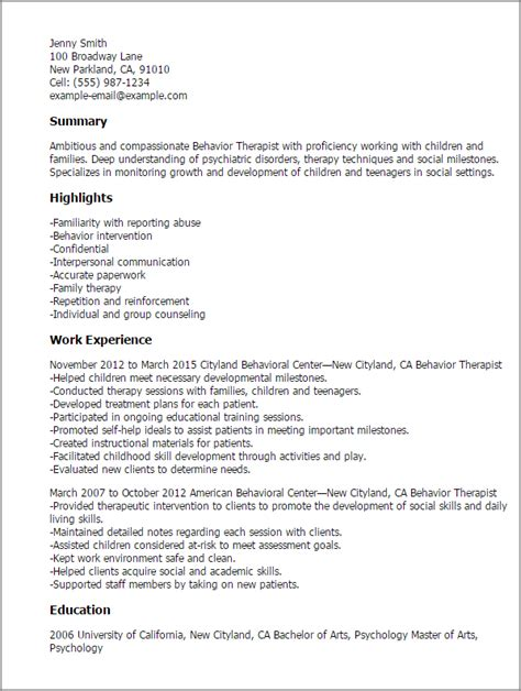 Sle Resume Cover Letter Psychology Professional Psychology Research Assistant Templates 28