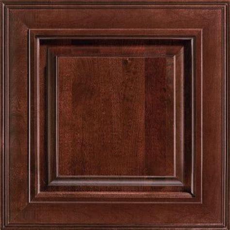 cherry kitchen cabinet doors american woodmark 14 9 16x14 1 2 in savannah cherry
