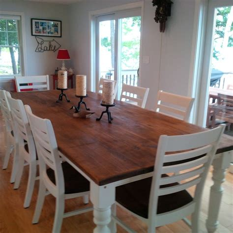 10 person dining room table mts designlab pinterest 9 foot table plenty of space to entertain 8 10 people