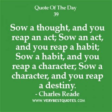 Brief Quotes And Characterizations Of The Day S Events In News Coverage Are Called Reap What You Sow Quotes Quotesgram