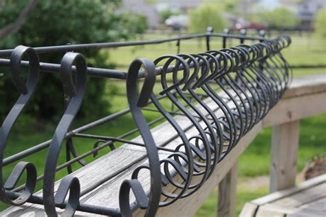 wrought iron planter large decortive flower container