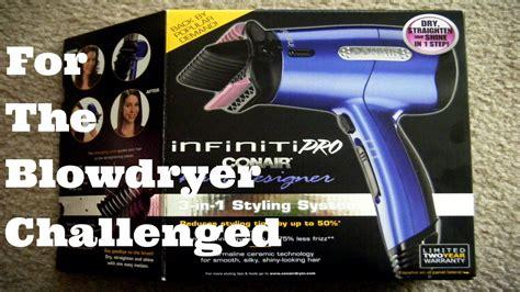 Infiniti Pro Conair Hair Dryer Designer 3 In 1 Styling System 157 review infiniti pro by conair hair designer 3 in 1