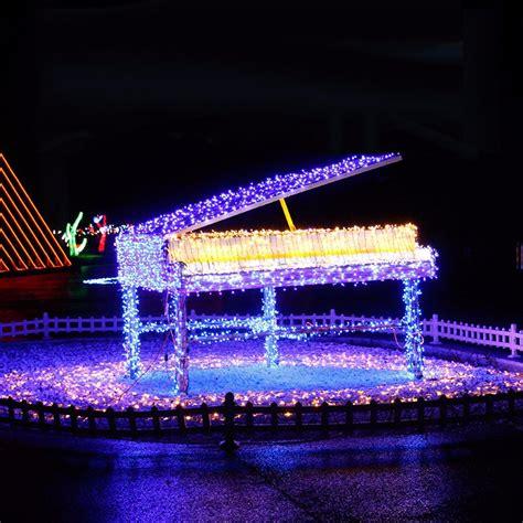 220v eu christmas tree led light string starry sky home