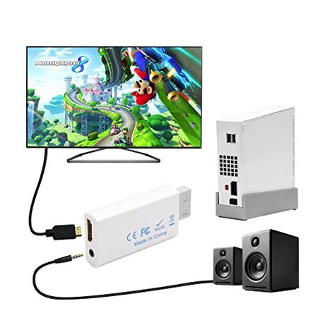 Wii To Hdmi 1080p Converter Adapter Murah kcool wii to hdmi converter output audio adapter supports all wii display modes ntsc