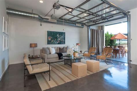 garage living room 15 home garages transformed into beautiful living spaces