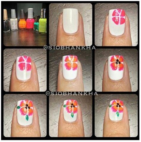 jay nail art tutorial flower flower nails and tutorials on pinterest