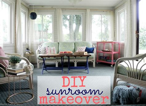 Home Decor Chairs diy sunroom makeover reveal mad in crafts