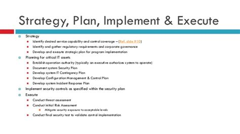 Business Case For Information Security Program Information Security Strategy Template