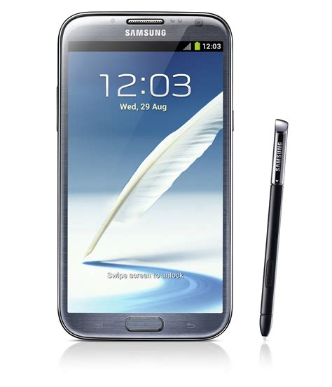 galaxy note ii chega com jelly bean e tela de 5 5