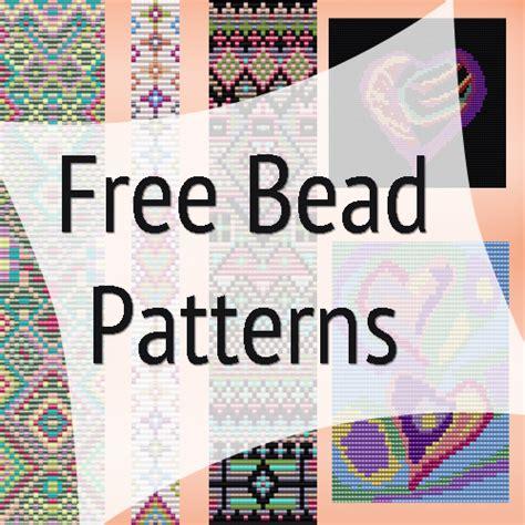 free bead weaving patterns bead loom designs on bead loom patterns loom