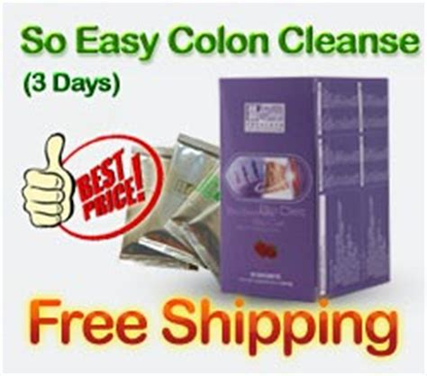 Easy 3 Day Detox Uk by Easy Pha Max So Easy 3 Days Colon Cleanse Detox