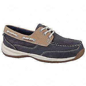 grainger shoes rockport works boat shoes steel 6 1 2w pr 20wp09 rk670 6