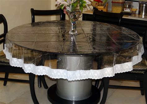 Dining Tables Covers Clear Plastic Dining Room Table Covers Alasweaspire Circle