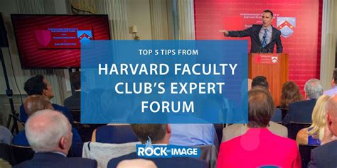 Harvard Mba Consulting Club by Top 5 Tips From Harvard Faculty Club S Business Expert