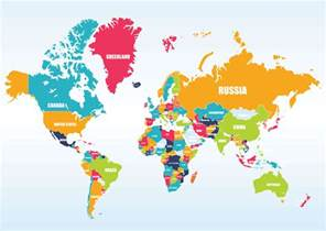 Map Of World Countries by World Maps