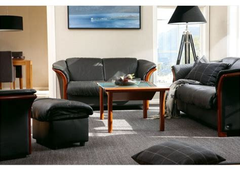 ekornes leather sofa ekornes manhattan leather sofa set