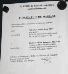 publication des bans mariage des lapins