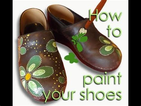 paint leather shoes como pintar sapatos de couro
