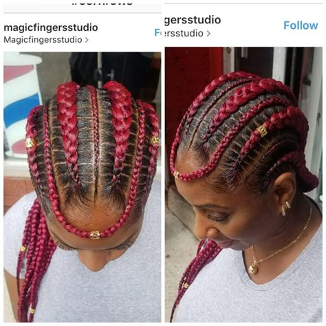 show some different inside up cornrow stytles the brilliant feed in braids hairstyles trend hairstyle