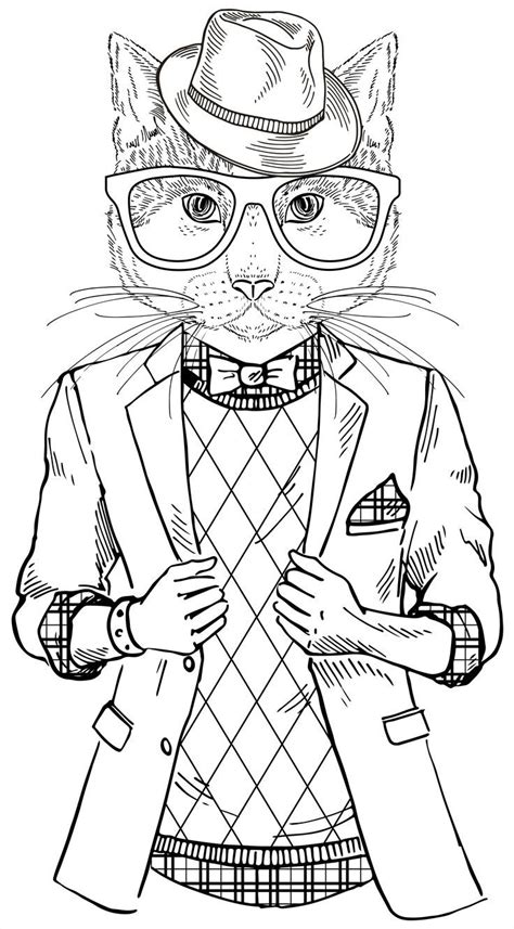 cool coloring books cat coloring book for adults search zentangle