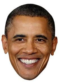 barak obama diy celebrity face mask kit