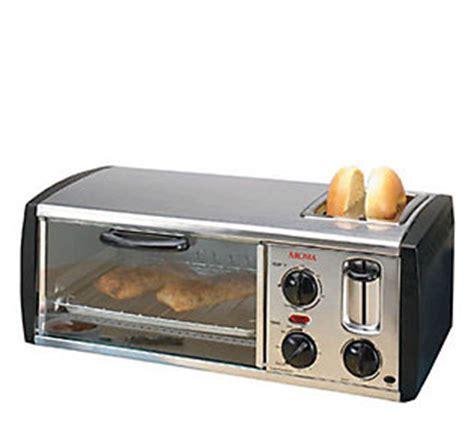 Aroma Toaster Oven aroma toaster and toaster oven combo qvc