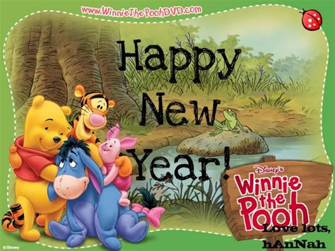 pooh quotes new years quotesgram