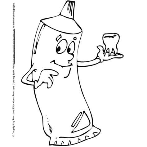 www preschoolcoloringbook com dental coloring page