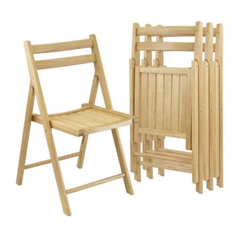 winsome solid wood folding chairs walmart ca