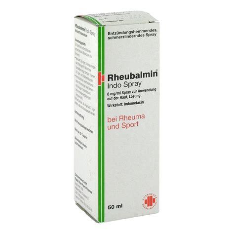 Indo Spray by Erfahrungen Zu Rheubalmin Indo Spray 50 Milliliter N1