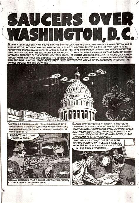 ufo research paper ufos washington dc 1952 ufo research