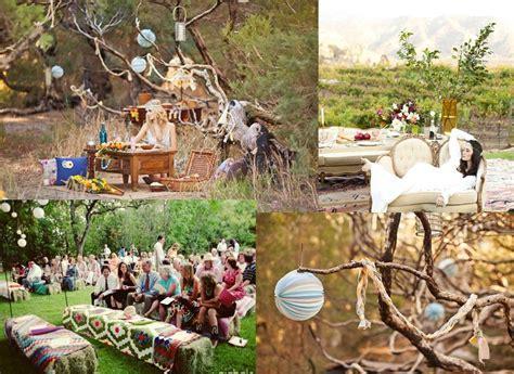 Mood board : a Bohemian wedding decoration ? Weddings on