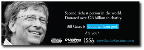 bill gates philanthropy biography atheists humanists resolve to give more exchristian net