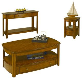 hammary primo 3 coffee table set traditional