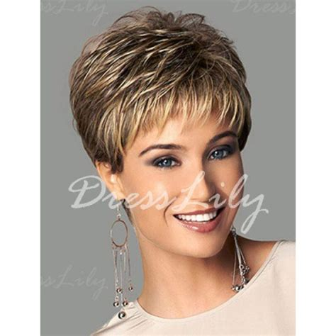 k mitchell short hairstyles with a soft bang adiors layered side bang highlight fluffy short straight