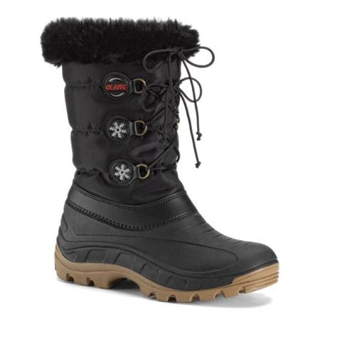 olang patty womens snow boots black 163 49 95 a bargain