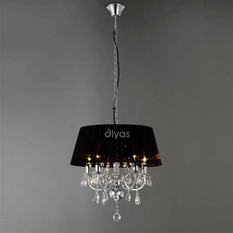 Diyas Lighting Il30045 Olivia 5 Light Polished Chrome Clearance Ceiling Lights