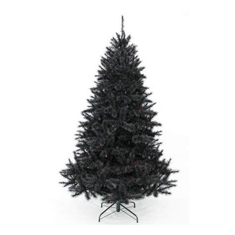 Sapin Artificiel Noir by Sapin Artificiel Bristlecone Noir 215 Cm Triumph Tree