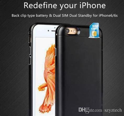 dual sim adapter  battery case  iphone spluss   plusget  active phone