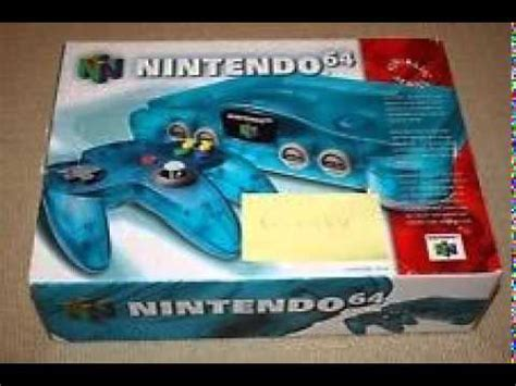 N64 Console For Sale For Sale Nintendo 64 N64 Blue Console New Sealed