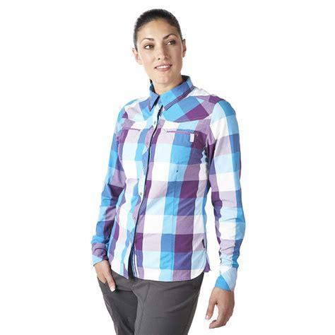 berghaus women s explorer eco ls shirt adventure peaks