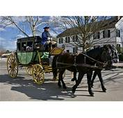 Colonial Carriage Rides  The Williamsburg