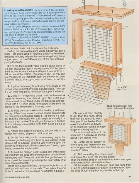 suet feeder plans plans diy free download plans for patio