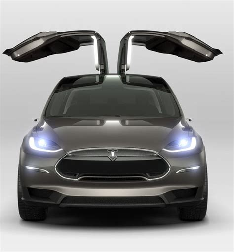 Electric Car Tesla Tesla Model X Suv To Electric Car Future Mycarzilla